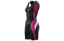Skins TRI400 Women's Sleeveless Suit black/orchid